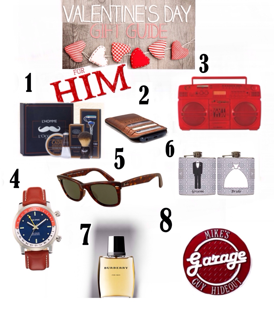 Good valentines day gift ideas for guys roselawnlutheran for Valentine day gifts for him ideas